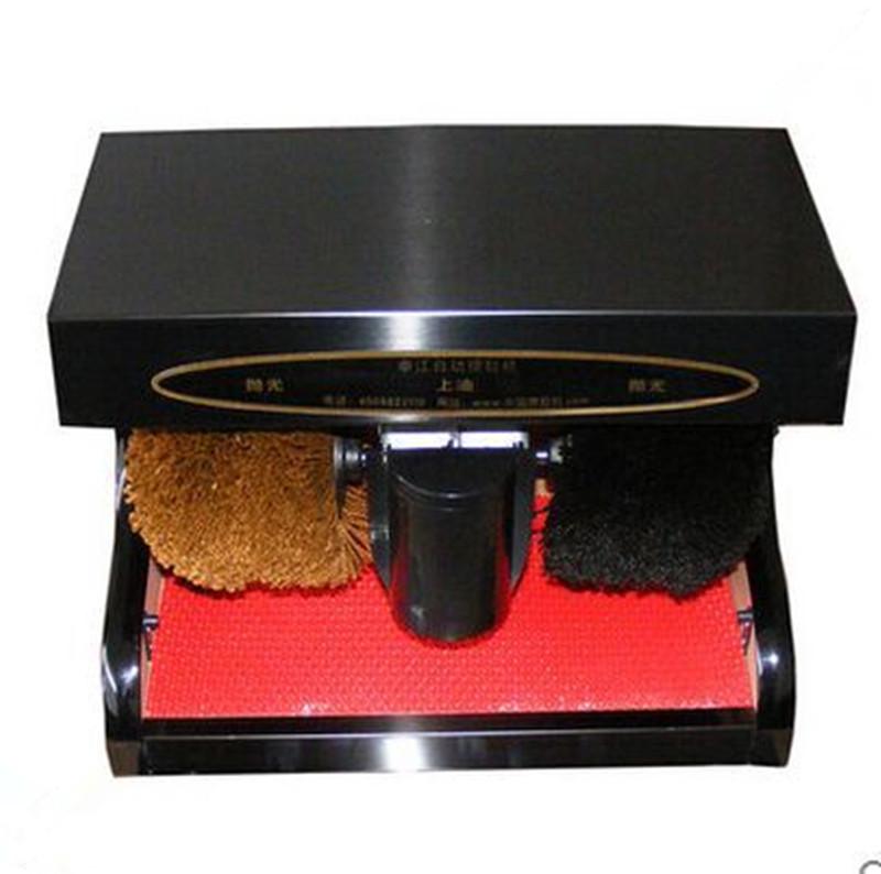 Shoe Polishing Cleaning Machine Consumer Electronic Gadget Wardrobe Footwear Style Shine(China (Mainland))