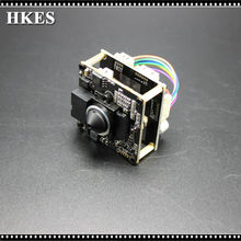 Buy High Resolution Pinhole 3.7mm Lens 1920*1080P 720P 960P HD POE IP camera module board IRCUT LAN cable for $18.62 in AliExpress store