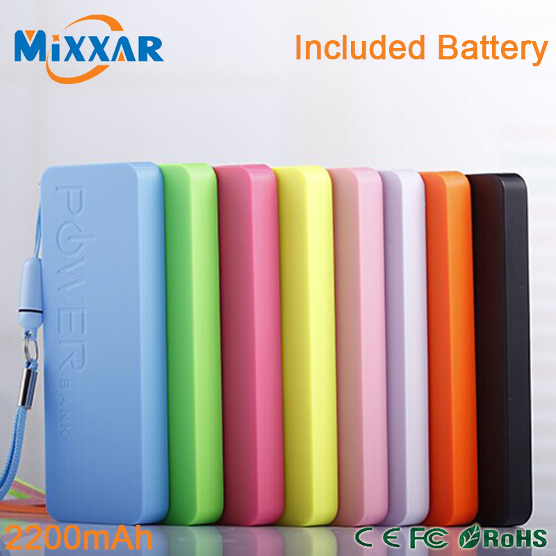 2200mAh Portable Charger Powerbank Power bank External Backup Battery Pack For Phone and Tablet Smart Device(China (Mainland))