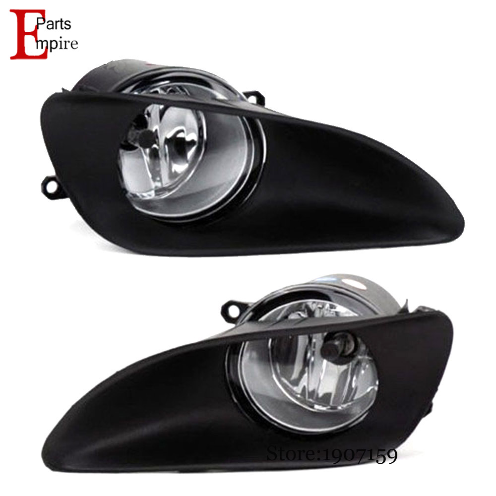 High quality safety fog light fit TOYOTA YARIS 2009 2010 2011 with clear lens pair set wiring kit fog Lights lamps<br><br>Aliexpress