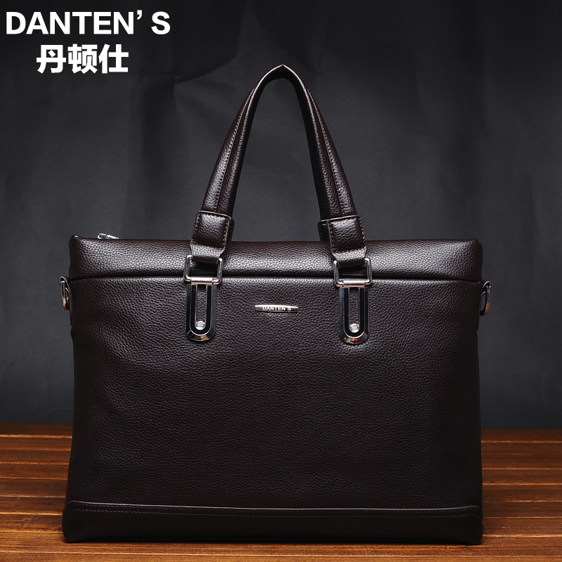 2015 Men Casual Briefcase Business Shoulder Bag Leather Messenger Bags Computer Laptop Handbag Bag Men's Travel Bags 0626-3