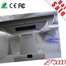 Novo estoque barato 15 polegada sistema pos 1037u 128G SSD do windows 4 DDR3 ram pos tela de toque All In One touch screen POS terminal(China (Mainland))