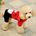 FA58 free shipping dog warm clothes Flannel coat for 2 legs bear design pet clothing winter