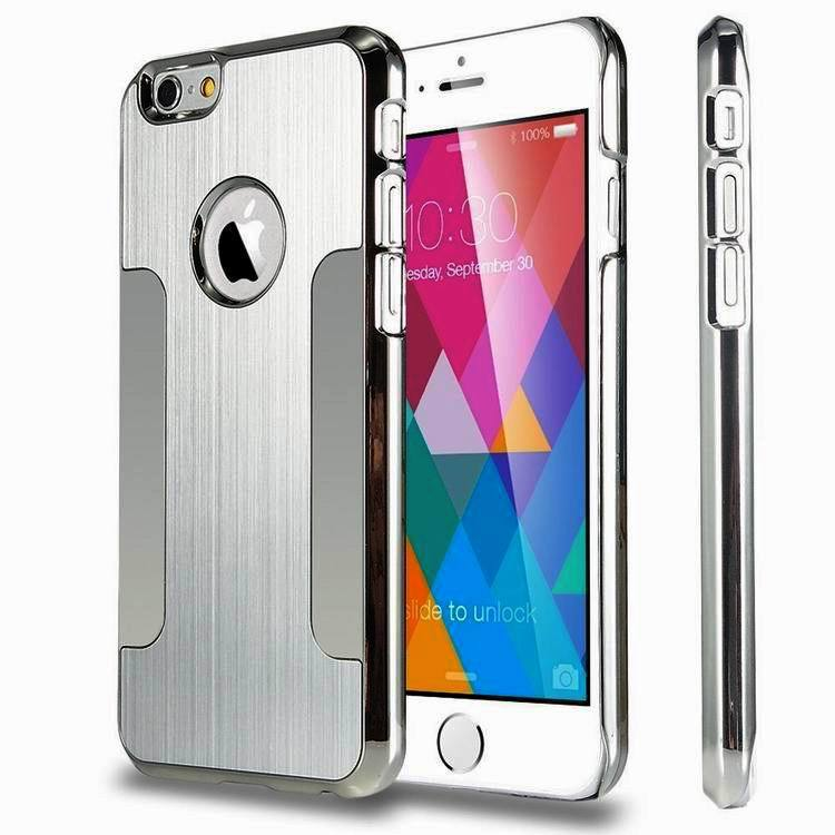 """Hot Sale 2015 New Arrival Luxury Aluminum Alloy Ultra Thin Metal Back Skin Cover Case For Apple iPhone 6 4.7'' Plus 5.5""""(China (Mainland))"""