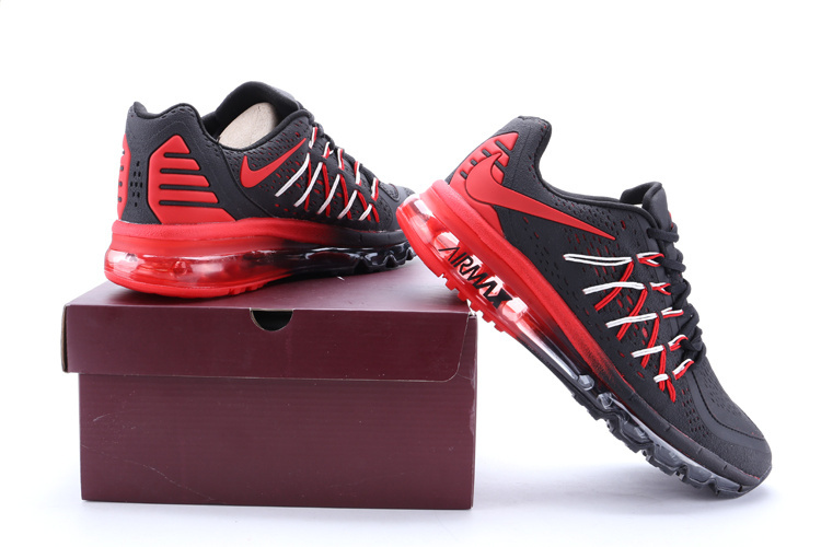 100% Original Men's 2015 RuN WaLking ShoEs 90+87 BaskeTBall ShoEs Black Red White SpoRt ShoEs With Original Box Size 40-45(China (Mainland))