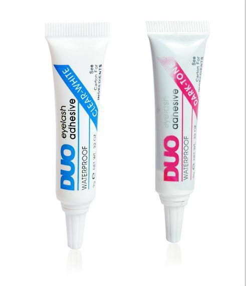 2pcs Duo Water Proof False Eyelash Adhesive Eyelash Glue Dark/White(China (Mainland))
