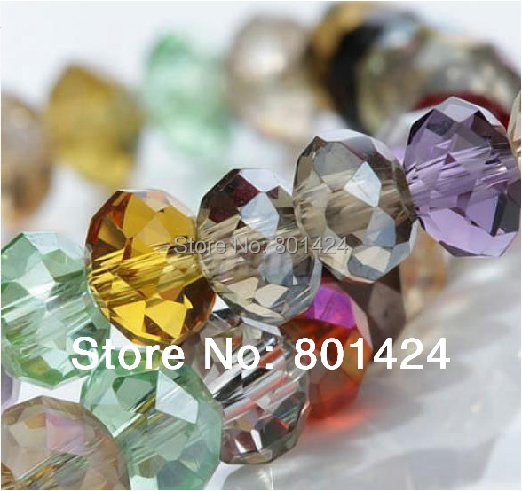 Гаджет  assorted AAA quality crystal beads free shipping 300pcs,size 6x8 None Ювелирные изделия и часы