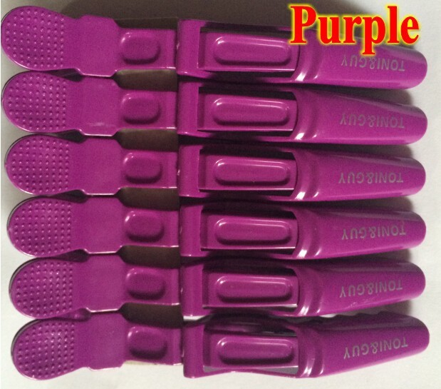 Free shipping 12pcs  Matte Sectioning Clips professional hairdressing cutting salon styling tools Grip Crocodile Hair Clips<br><br>Aliexpress