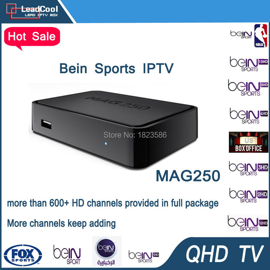 Best selling Mag 250 can watch HD Bein sports and all european channels(China (Mainland))