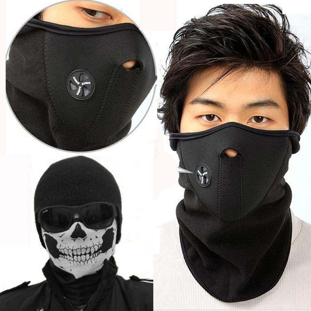 Motorcycle SKULL Ghost Face Windproof Mask Outdoor Sports Warm Ski Caps Bicyle Bike Balaclavas Scarf(China (Mainland))