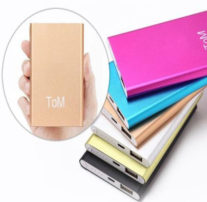 In 2015, new Mobile power supply Ultra-thin aluminum alloy polymer power bank large capacity 20000 ma charging treasure(China (Mainland))