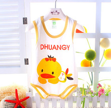 Baby romper 2015 new cartoon animal Newborn Infant romper toddler Boys Girls Jumpsuits cute Baby clothing