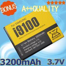 3.7 В 3200 мАч BOXBOY мобильного телефона для Samsung Galaxy S2 S2 I9100 9100 i9100g i9103 i9105 I9108 i9050 i9188 EB-F1A2GBU