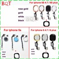Replacement Parts For iphone 5s 6 6s 4.7 Home Button Key Assembly Flex Cable Full Assembly For iphone 6 plus 6s plus