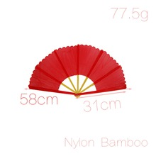 Open Width 55cm Magic Props Yellow Bamboo Frame Red Broken Fan Recovery 31cm x 2cm x 1.5cm (L*W*H) Discount 50(China (Mainland))
