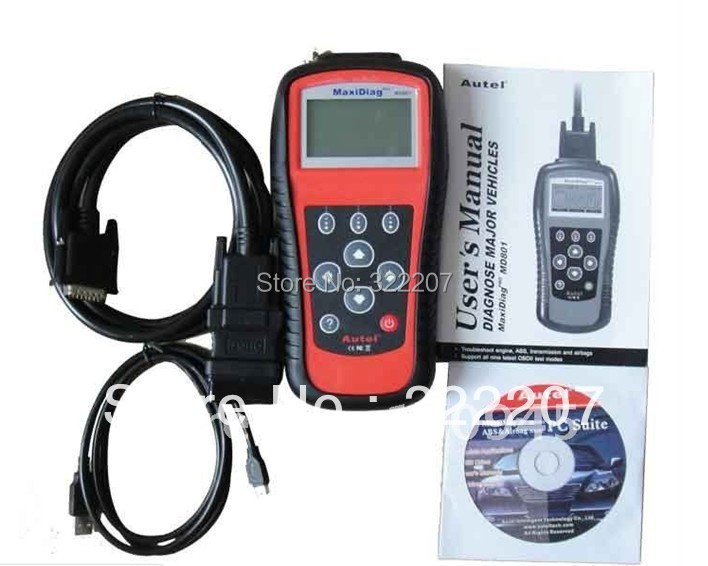 Best Price for Autel Pro MaxiDiag MD801 4 in 1 code scanner(JP701 + EU702 + US703 + FR704) PRO(China (Mainland))