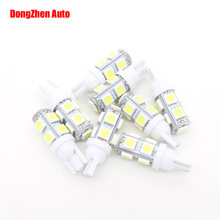 Buy 1X T10 W5W 9 5050 2W Car LED Parking License Plate Light Wedge Bulb Map Lamp Auto 5W5 Clearance Door Dome Festoon Light Xenon for $1.23 in AliExpress store