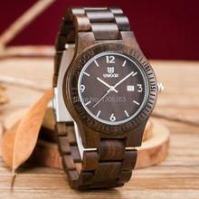 Brand new analog quartz men women wood watch slim designer 2016 wood watch orologio worldwide free