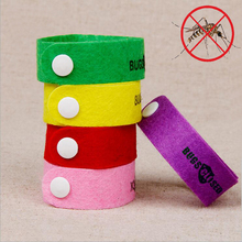 Anti Mosquito Bug Repellent Wrist Band Bracelet Lemon Smell Mosquito repellent Hand Strap For Baby Adult ( Random Color )(China (Mainland))