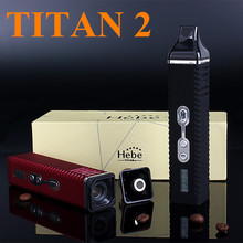Electronic Cigarette Wax Dry Herb Vaporizer Titan 2 Hebe Box Mod Kits E Cigarette Twist Herbal Vaporizer Herb Vape X8249(China (Mainland))