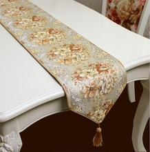 Coffee color Table Runners Quality Tablecloth Wedding table runners wedding decoration home deco(China (Mainland))