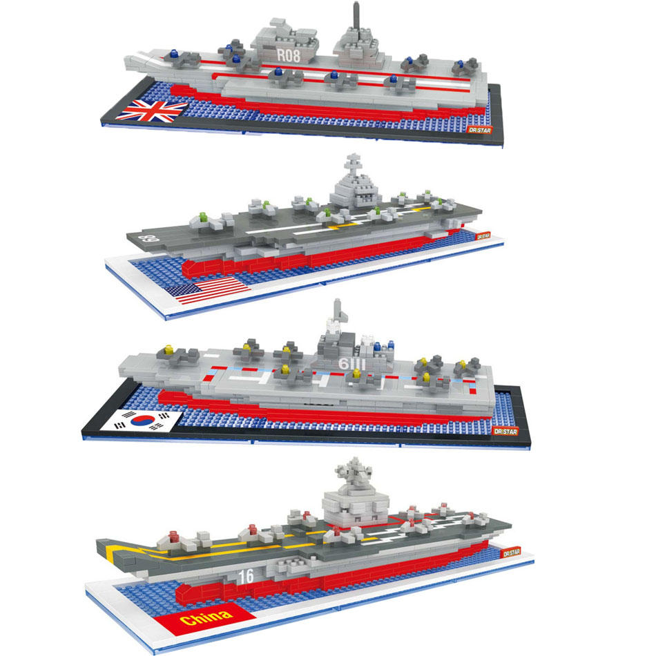 Aircraft carrier Elizabeth Bukater minifigures minecraft building Blocks States warship Figure Model Kids Toys 0880(China (Mainland))