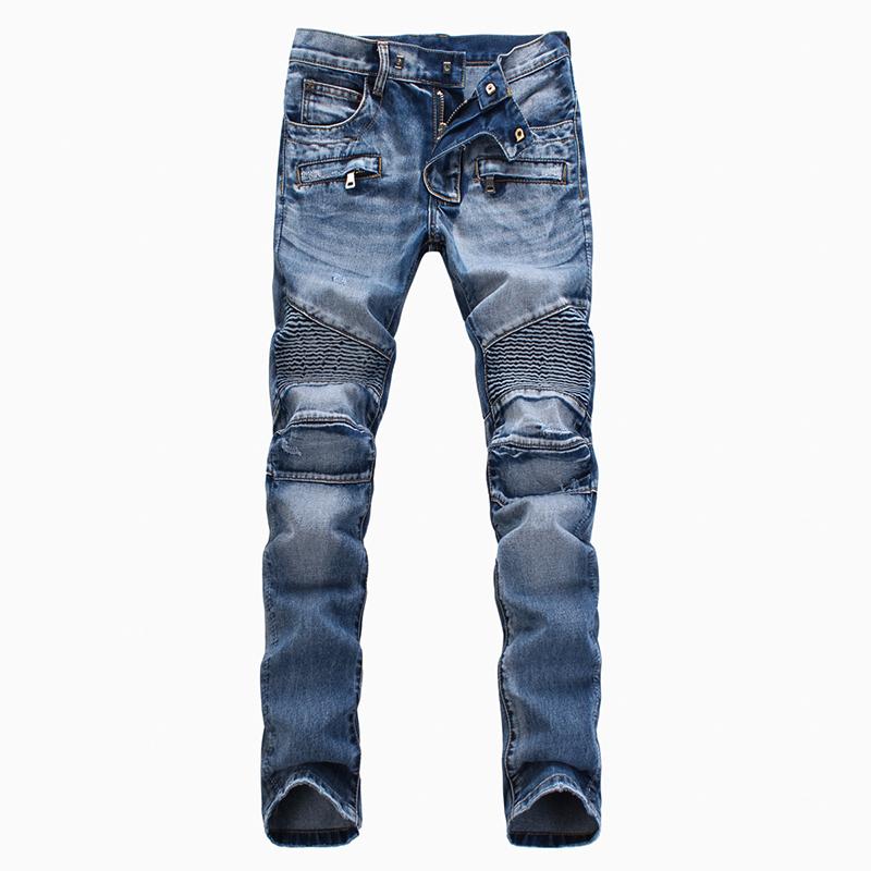 Denim Biker jeans men skinny famous brand men jeans slim fit uglybros pantalones vaqueros hombre marca