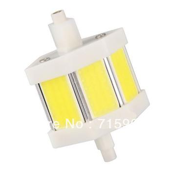 R7s 3 COB LED White Spotlight Light Lamp Bulb 5W 78mm 350lm High Power