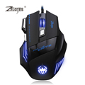 TK Zelotes T80ZZ 7 Buttons USB Game Gaming Optical Mouse Computer Mice Mause 5500 DPI Adjustable