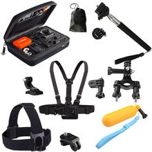 Gopro Accessories Case Monopod Tripod Float Bobber Chest head strap Go pro 3 Gopro Hero 4 3 SJ4000 Xiaomi yi Camera Accessories