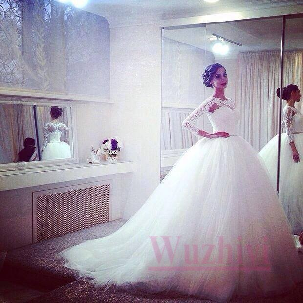 Big Puffy Ball Gown Wedding Dresses Ivo Hoogveld