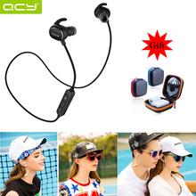 Nuevo 100% Original QCY QY19 CSR auriculares Bluetooth 4.1 auriculares Auriculares Deportes Wireless Stereo Correr Auriculares fone de ouvido