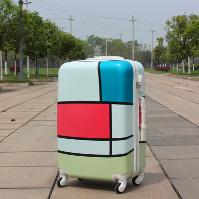 "20 inch""24 inch"" inch Universal wheels trolley luggage travel bag, light ,colorful large-capacity, ABS, password box, 2015 new suitcase"""