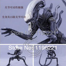 "Wholesale/Retail Free Shipping FS New NECA Toy Classic Alien 20th Century Fox 23cm/9"" Action Figure RARE(China (Mainland))"
