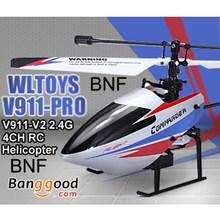 Hot sale good quality WLtoys V911-pro V911-V2 2.4G 4CH RC remote control Helicopter BNF(China (Mainland))