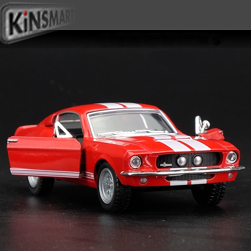 Kinsmart Mustang Shelby GT500 1967 1/38 alloy models model car back pull back car children's toys car Kids toy(China (Mainland))