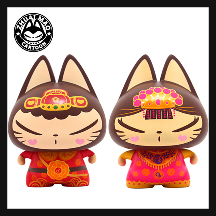 manufacturers selling automotive interior products wholesale pull the cat China wind wedding ornaments car accessories(China (Mainland))