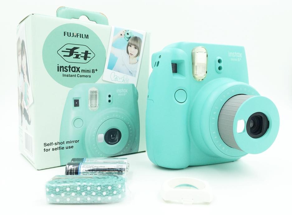 Fujifilm Instax Mini 8 Plus Instant Film Photo Camera Honey Vanilla Strawberry Mint Cocoa Free Shipping Gift 2015 New(Hong Kong)