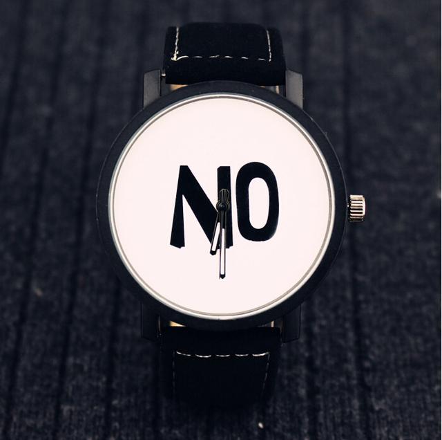 Zegarek damski YES NO dwie wersje