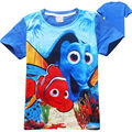 Finding Dory T shirt Girls Tops And Tees Children Cartoon Kids Clothes Girls Summer 2016 Finding