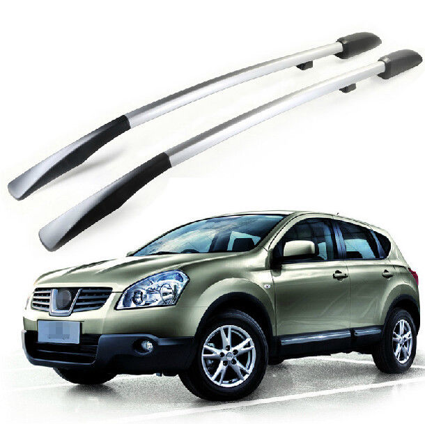 2PCS Roof Rack Side Rails Bars Decoration For Nissan Qashqai Dualis 2007 - 2013(China (Mainland))