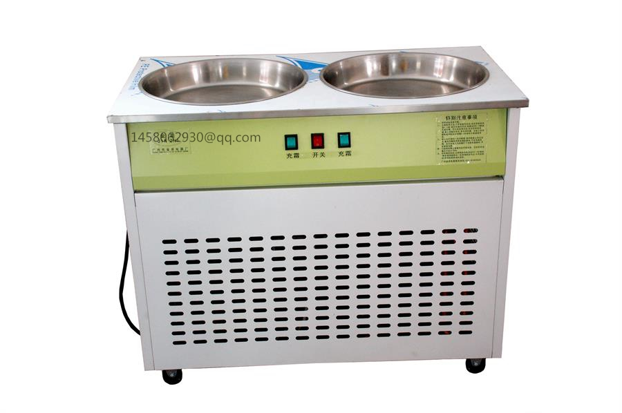 China fried ice cream machine commercial good qualtiy for Ice makers for sale
