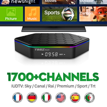 Buy Octa Core Android Arab IPTV BOX T95ZPLUS Free 1700 Europe Arabic IPTV Channels S912 2GB/16GB TV Box WIFI H265 Media Player for $86.24 in AliExpress store