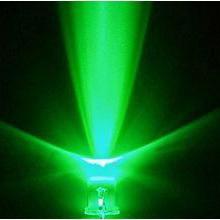 Free Shipping 1000pcs/lot Ultra Bright Round Green Light 5mm LED Diode(China (Mainland))
