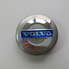 4 pcs/set Car Hubcaps For Volvo S70 V70 XC90 850 960 S90 S80 Grey Blue 64mm ABS Alloy Wheel Hub Rim Center Centre Caps 3546923(China (Mainland))