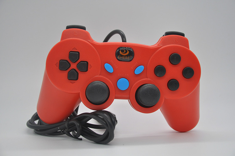 EJ-03B Wired USB Controller Gamepad Joystick for PC Computer Laptop Newest
