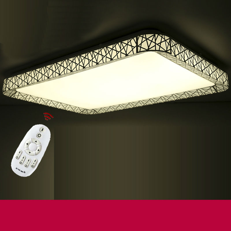 Nest led ceiling lights for Bedroom  45W 72w 48w  indoor lighting  Remote control dimming and color temperature variation ceilin<br><br>Aliexpress