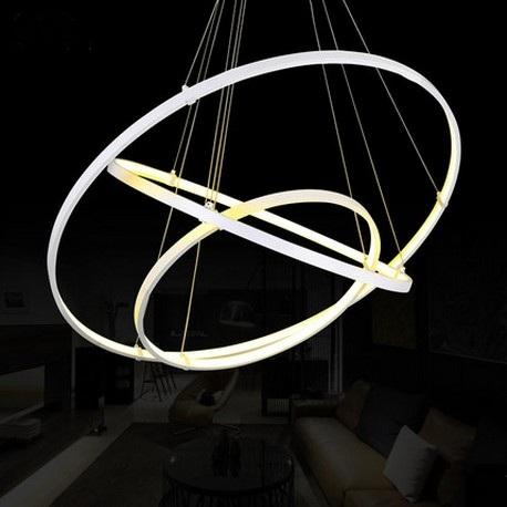 Kreative Kreis Ring Design Droplight Moderne LED Pendelleuchte ...