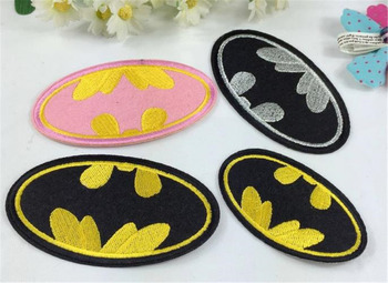 Batman Embroidered Patches for Clothes Clothing Patchwork