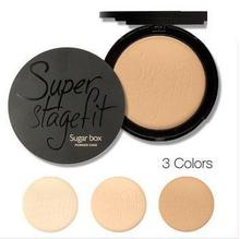 Sugar box New 2014 Fabulous Pressed Face Make Up Maquiagem Batom Cosmetics Powder Makeup Powder Palette Skin Finish(China (Mainland))